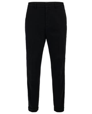 Cotton slim fit trousers Z ZEGNA
