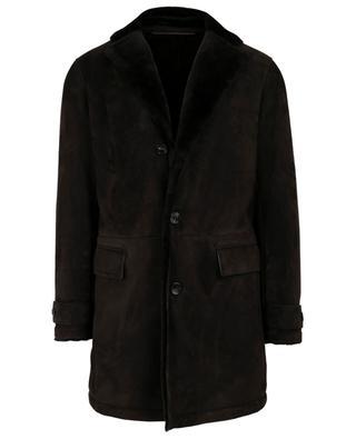 Manteau en peau lainée ERMENEGILDO ZEGNA