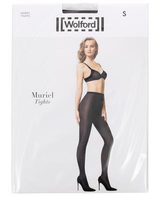 Gestreifte Strumpfhose Muriel WOLFORD
