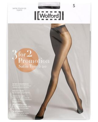 Lot de collants Satin Touch 20 WOLFORD