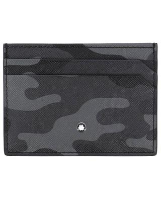 Sartorial 5 cc leather card-holder MONTBLANC