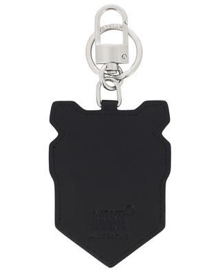 Bear leather key ring MONTBLANC