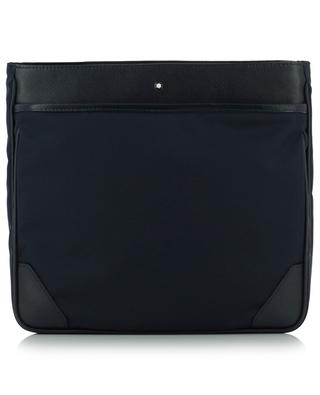 Sartorial Jet nylon and leather envelope bag MONTBLANC