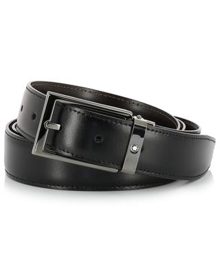 Contemporary Line smooth leather belt MONTBLANC