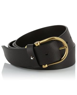 Classic Line textured leather belt MONTBLANC