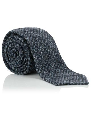 Silk and wool tie KITON