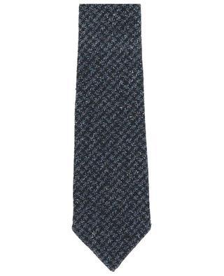 Cravate en soie et laine KITON
