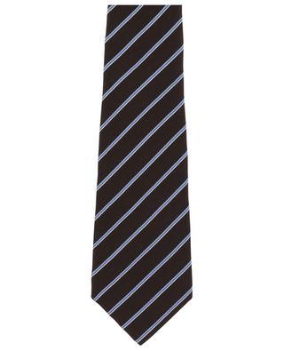Gestreifte Krawatte aus Seide KITON