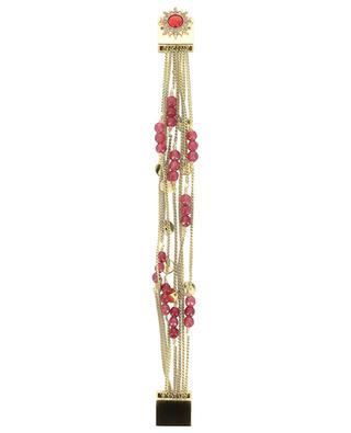 Armband aus Kettchen und Perlen Sheraz Chili HIPANEMA