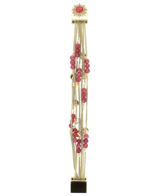 Bracelet en chaînes et perles Sheraz Chili HIPANEMA