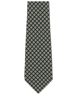 Bedruckte Krawatte aus Seide KITON