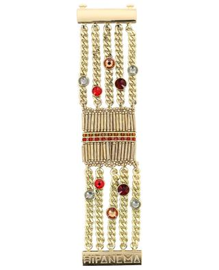 Condor Red multi chain cuff HIPANEMA