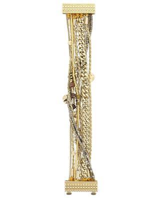 Salambo Gold golden multi chain bracelet HIPANEMA