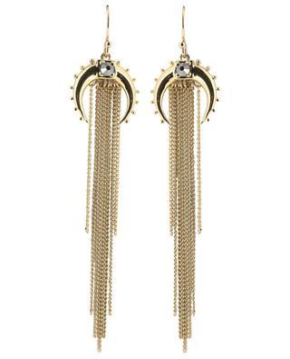 Kashmir Gold half moon earrings HIPANEMA