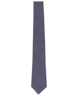 Printed silk tie BORRELLI