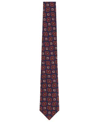 Krawatte aus Seide mit Print BORRELLI