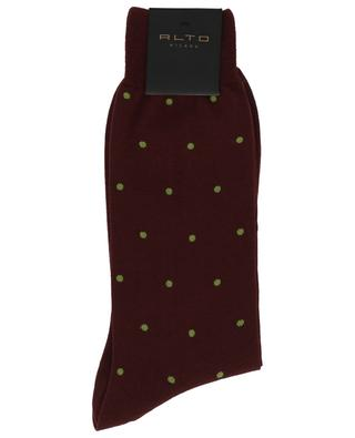 Virgin wool blend socks with polka dots ALTO