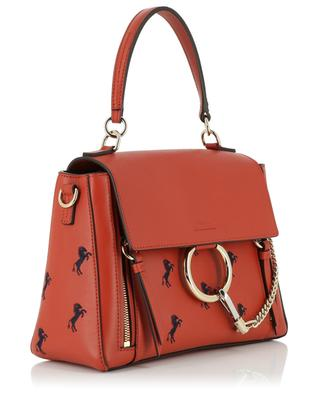 Faye Small embroidered leather bag CHLOE