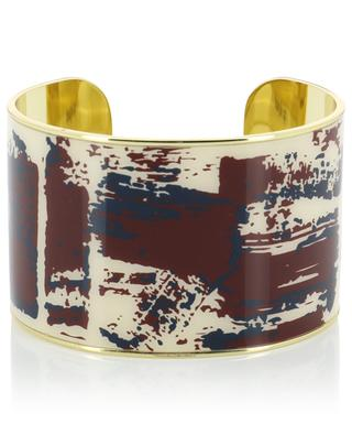 Brush enameled cuff BANGLE UP
