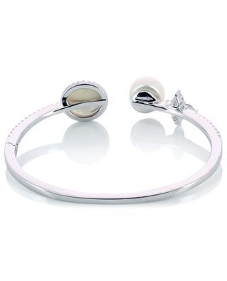 Open sterling silver bracelet APM MONACO