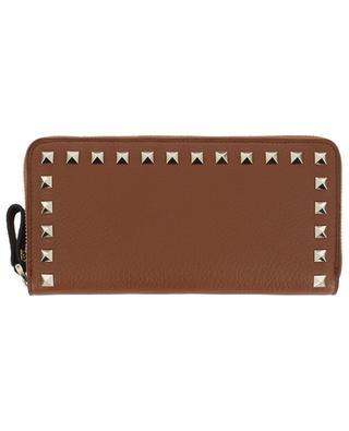Brieftasche aus genarbtem Leder Rockstud VALENTINO
