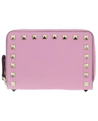 Rockstud grained leather wallet VALENTINO