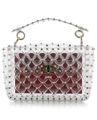 Sac transparent Rockstud Spike.It Plexy Medium VALENTINO