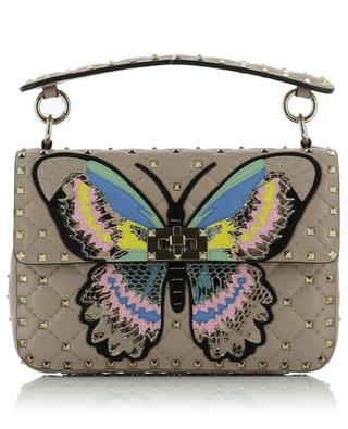 Gesteppte Tasche Rockstud Spike Medium Butterfly VALENTINO