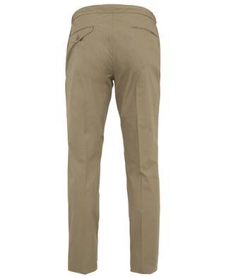 Pantalon slim en coton INCOTEX