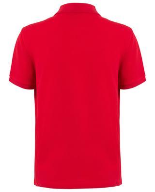 Logo silhouette slim fit polo shirt MONCLER