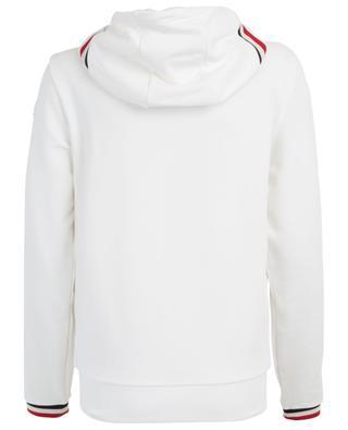 Sweat-shirt zippé détails tricolores MONCLER