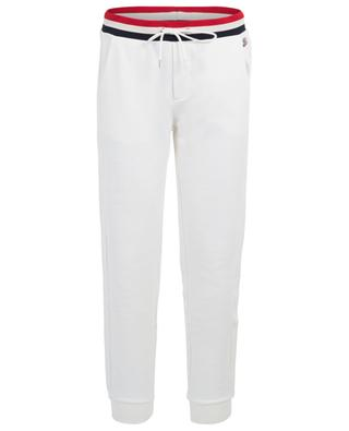 Jogging trousers with tri-toned waistband MONCLER