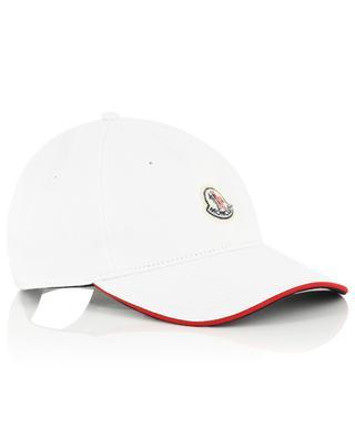 Logo patch baseball cap MONCLER