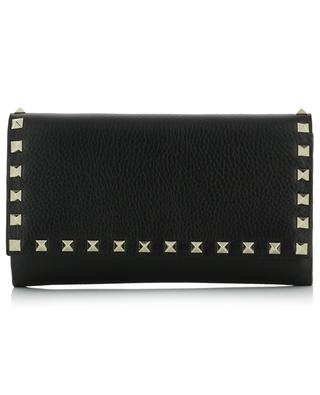 Rockstud leather chain wallet VALENTINO