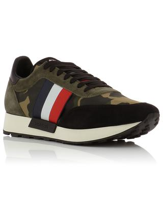 Materialmix-Sneakers mit Kamouflage-Motiv Horace MONCLER