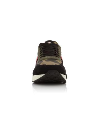 Horace multi material camouflage design sneakers MONCLER