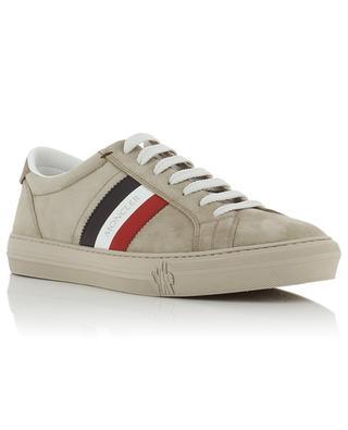 e335b222a5d9ea Niedrige Sneakers aus Wildleder New Monaco MONCLER ...