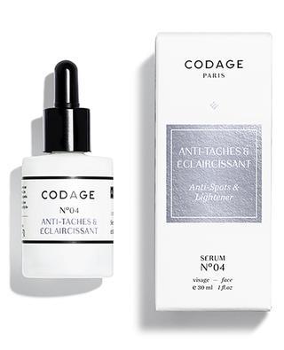 Serum N°04 Anti-spots & Lightener CODAGE