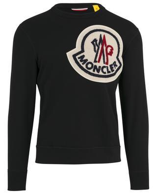 49cd0a891c15c7 Sweatshirt mit Maxilogo MONCLER ...