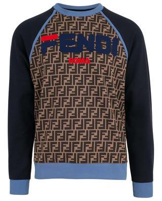 Sweat-shirt imprimé FF Fendi Mania FENDI