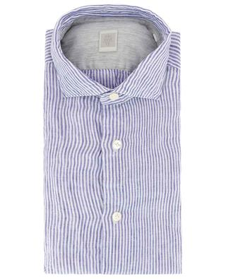 Striped linen shirt ELEVENTY