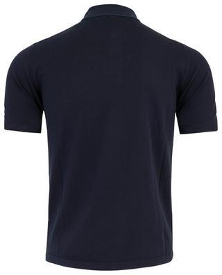 Lightweight cotton knit polo shirt ELEVENTY