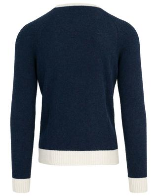 Bi-tone terry knit jumper ELEVENTY