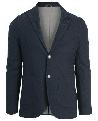 Linen and cotton blend blazer ELEVENTY