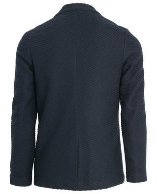 Linen and cotton blend blazer ELEVENTY