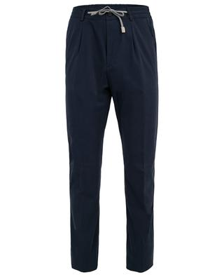 Chino trousers with drawstring ELEVENTY