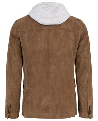 2-in-1-effect suede jacket ELEVENTY