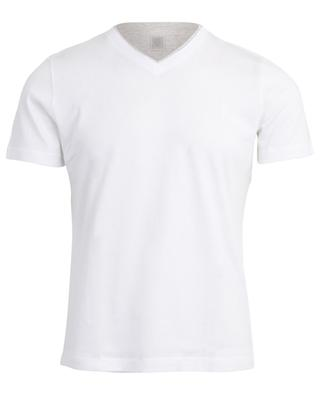 V-neck cotton T-shirt ELEVENTY