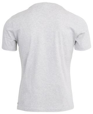 T-shirt en coton à col V ELEVENTY