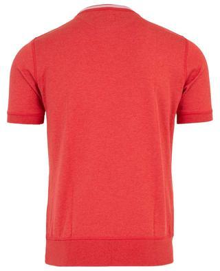 T-shirt avec bords côtelés ELEVENTY